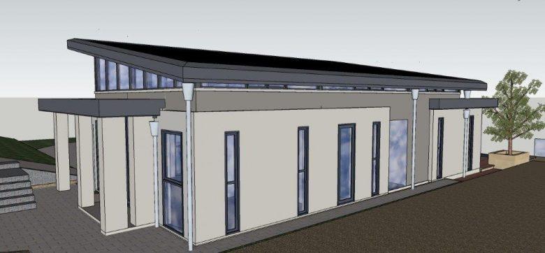 Solar Roofed House