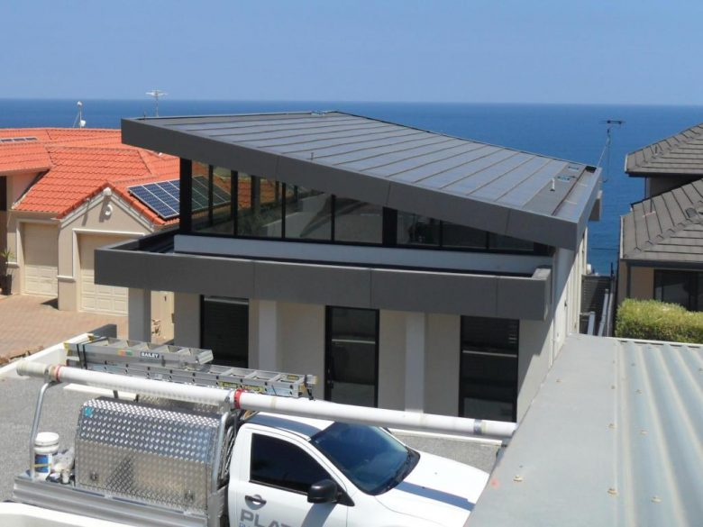 Tractile PV Roof on Marino Pool-House by Adelaide Architect Grant Lucas