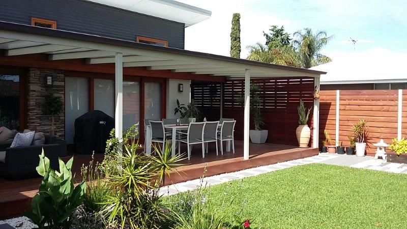 New Living area Extension with Landscaping and Alfreco: Adelaide Residential Architect Grant Lucas