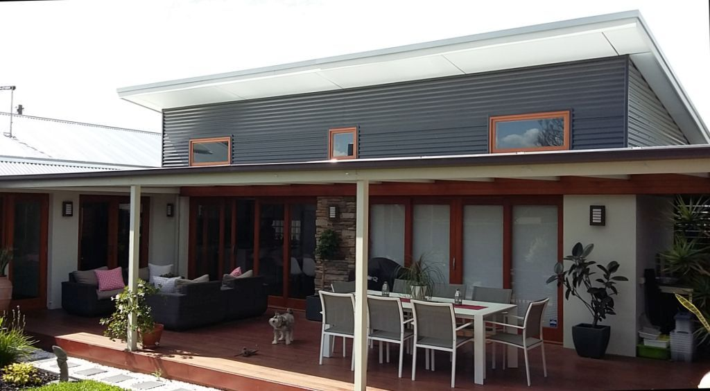 New Living Wing and Deck by Adelaide Residential Architect Grant Lucas