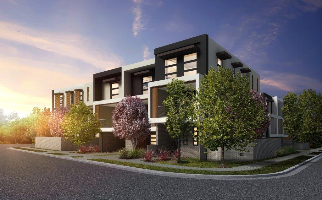 NEW TOWNHOUSES AT MORPHETVALE  BY ADELAIDE ARCHITECT GRANT LUCA