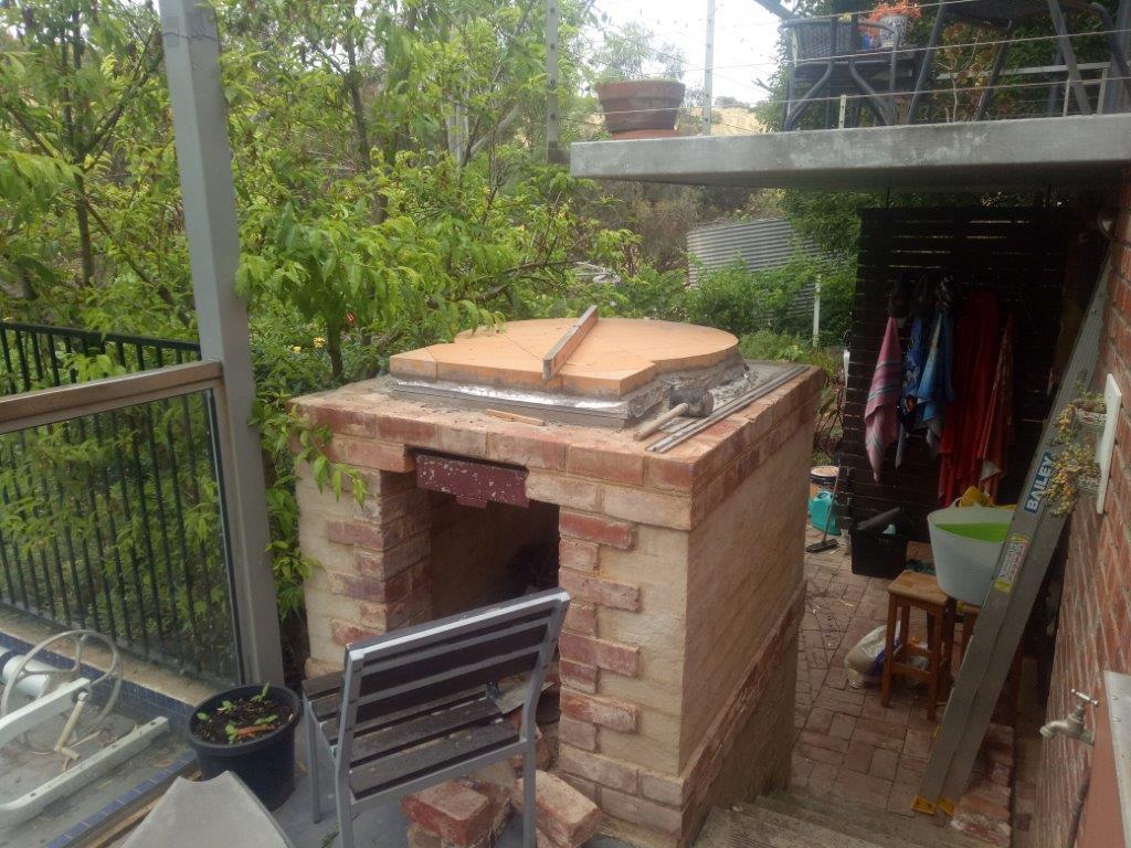 Pizza oven Slab and Firebricks