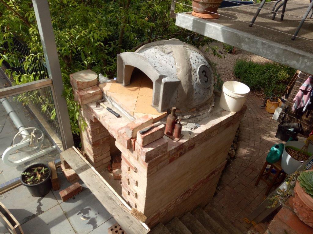 Pizza oven Precast dome