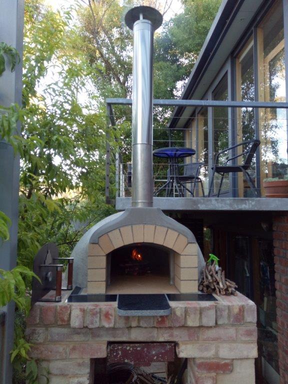 Pizza oven Fist fire